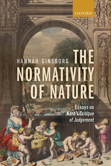 Image of book cover: Normativity of Nature
