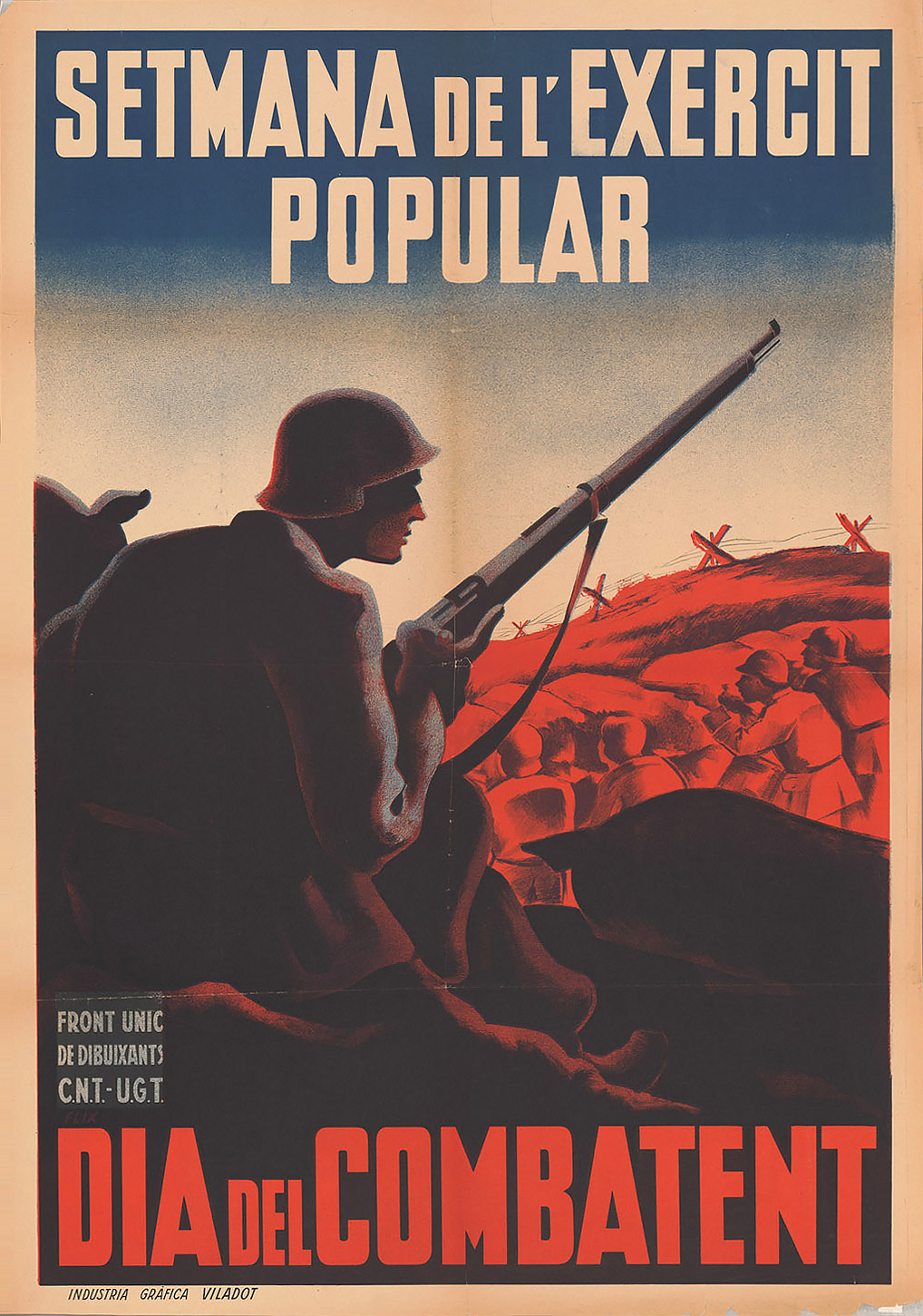 Spanish War Poster, courtesy Bancroft Library