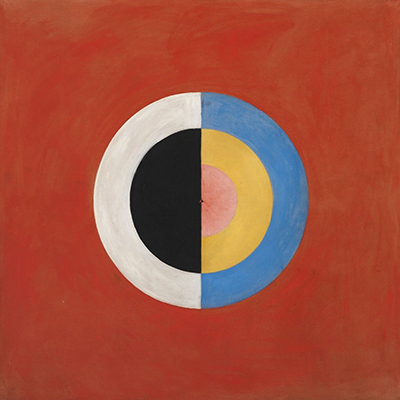 Hilma af Klint, No.17 Group IX/SUW, The Swan, Painting