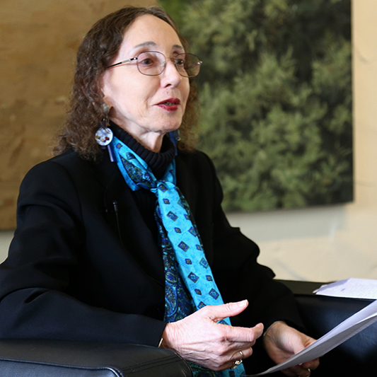 Joyce Carol Oates Photo by E. Kotila