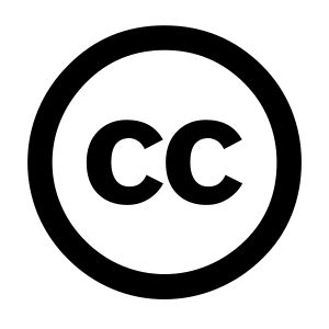 Image of the Creative Commons logo.