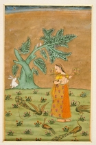 Folio from a Ragamala (Garland of Melodies), Los Angeles County Museum of Art