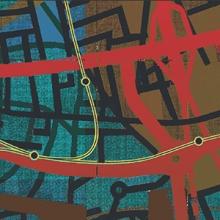 Allan deSouza Painting Detail