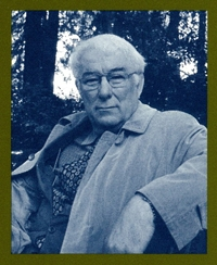 Photo of Seamus Heaney.