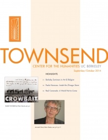 Image of the Townsend Newsletter cover