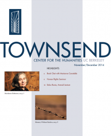 Cover of the Townsend Newsletter, Nov-Dec edition